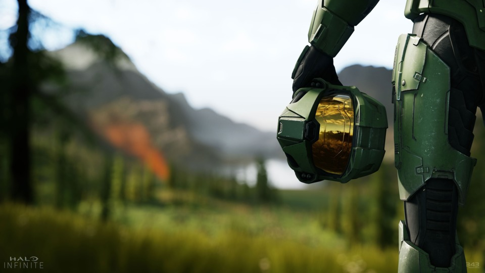 The TOP 10 Things We're MOST Excited to See in Halo Infinite- master chief helmet in halo infinite