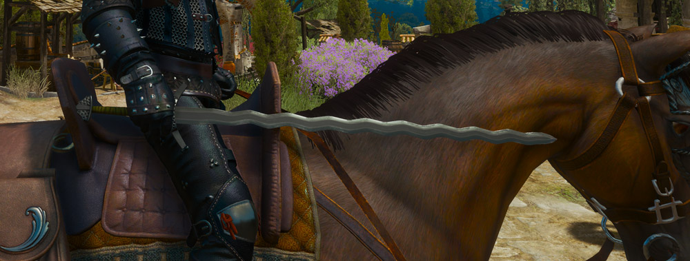 The Top 10 Steel Swords in The Witcher 3- Ard'aenye The Witcher 3