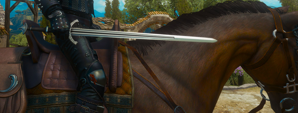The Top 10 Steel Swords in The Witcher 3-Hjalmar's Steel The Witcher 3