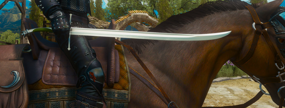 The Top 10 Steel Swords in The Witcher 3- Superior Dol Blathanna The Witcher 3