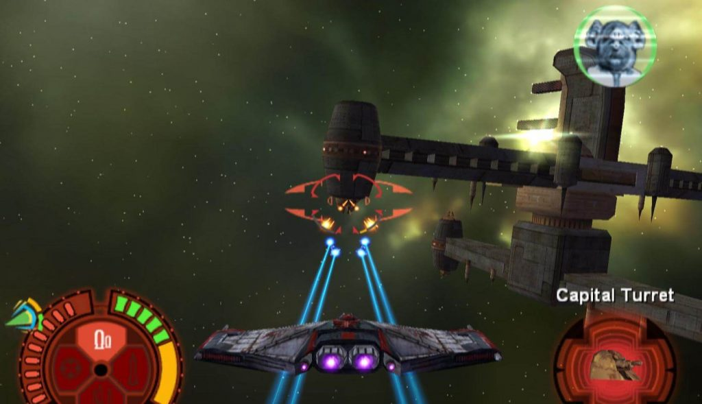 Top 10 Star Wars Games Where You're Not a Jedi - Star Wars: Starfighter