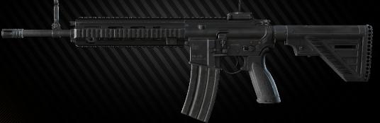 HK416 A5 5.56x45 Assault Rifle