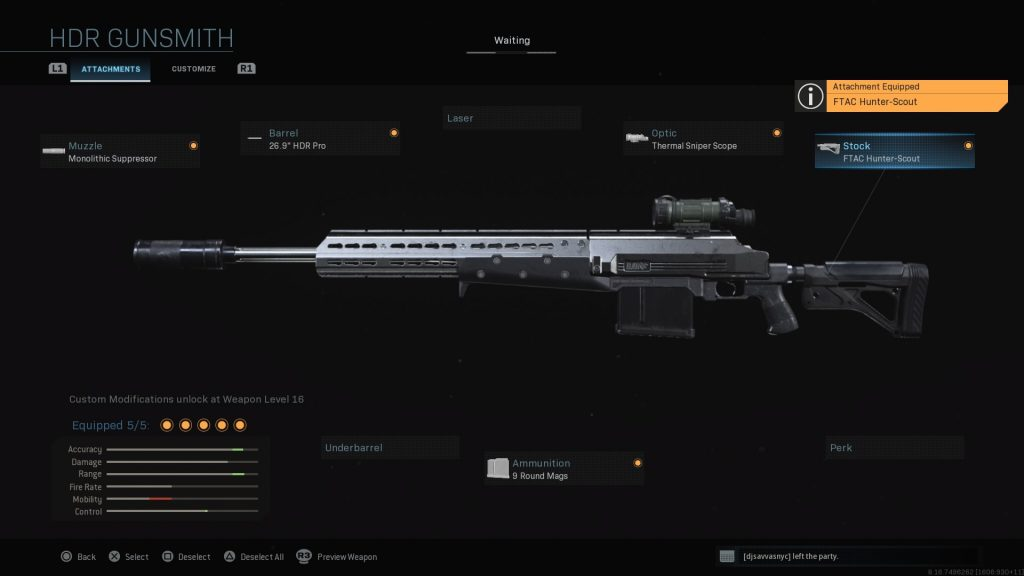 Top 10 Loadout Weapons In Call of Duty: Warzone - HDR