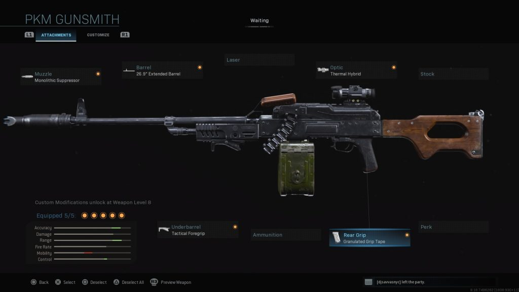 Top 10 Loadout Weapons In Call of Duty: Warzone - PKM