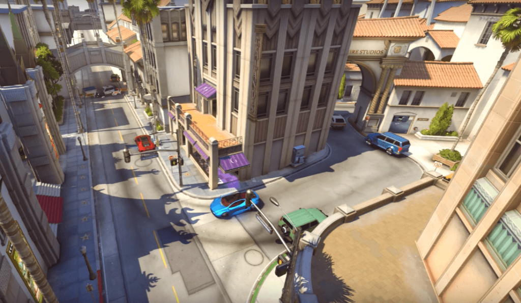Top 10 Best Maps in Overwatch - Hollywood