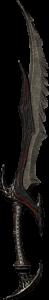 Top 10 Best One-Handed Swords in Skyrim - Daedric Sword