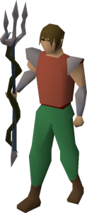 Top 10 Best Old School Runsecape Weapons - Trident of the Seas