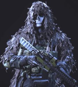Top 10 Best Operator Skins in Call of Duty: Warzone - Dreadwood - Ghost
