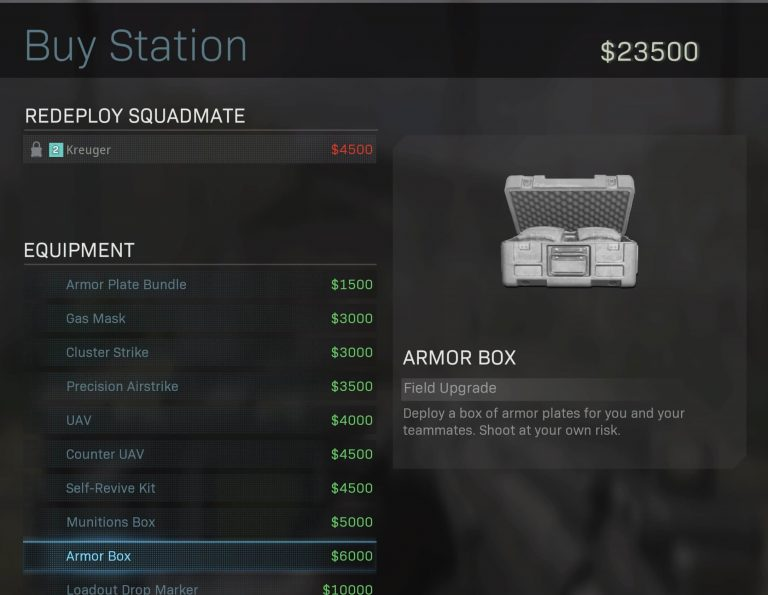 Top 10 Best Items to Buy at Supply Stations in Call of Duty Warzone (Ranked) - Armor Box