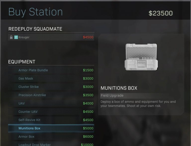 Top 10 Best Items to Buy at Supply Stations in Call of Duty Warzone (Ranked) - Munitions Box