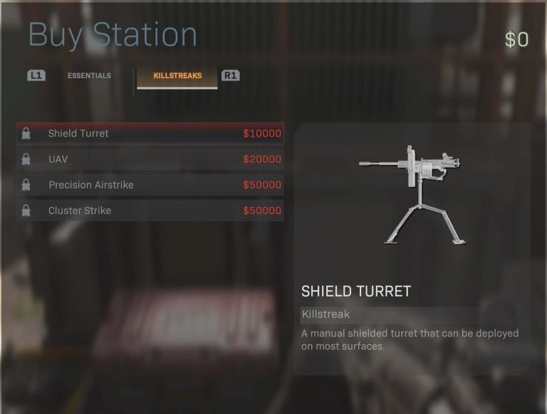Top 10 Best Items to Buy at Supply Stations in Call of Duty Warzone (Ranked) - Shield Turret