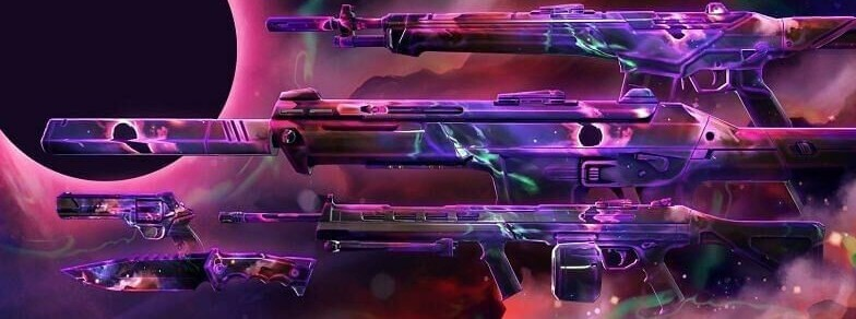 Top 10 Best Valorant Weapon Skin Collections - Nebula Collection