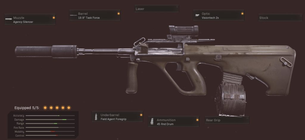 Top 10 Best Black Ops Cold War Guns to Use in Warzone - AUG