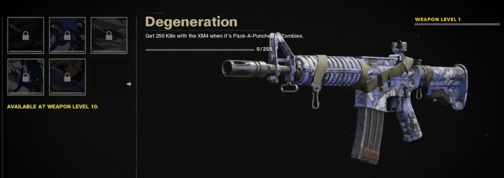 Top 10 Best Weapon Camos in Call of Duty Black Ops Cold War - Degeneration