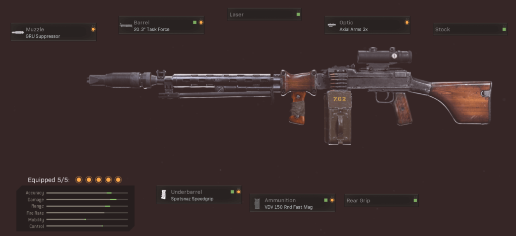 Top 10 Best Black Ops Cold War Guns to Use in Warzone - RPD