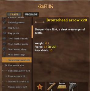 Top 10 Arrows Types in Valheim (Ranked) - Bronzehead Arrow