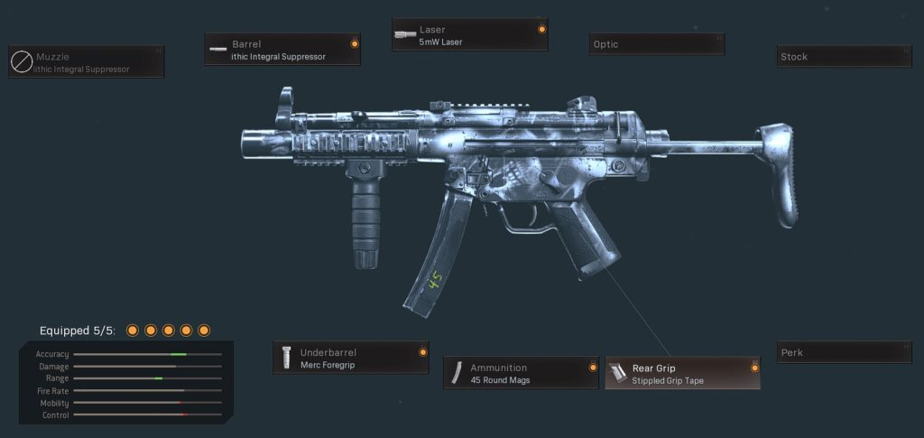 Top 10 Weapons with The Lowest Recoil in Call of Duty Warzone - MW MP5