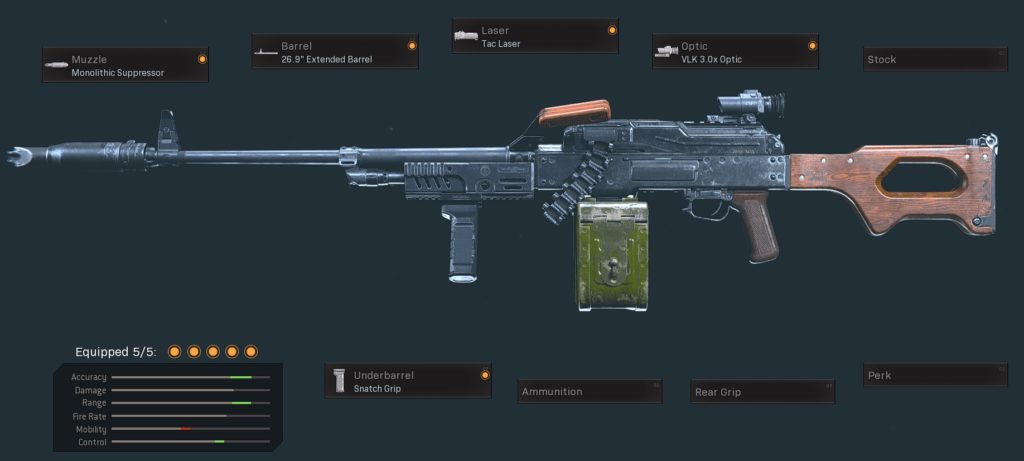 Top 10 Weapons with The Lowest Recoil in Call of Duty Warzone - PKM