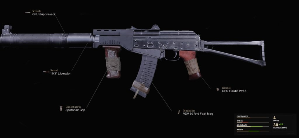 Top 10 Weapons in Call of Duty Black Ops Cold War with Fastest TTK - AK74u