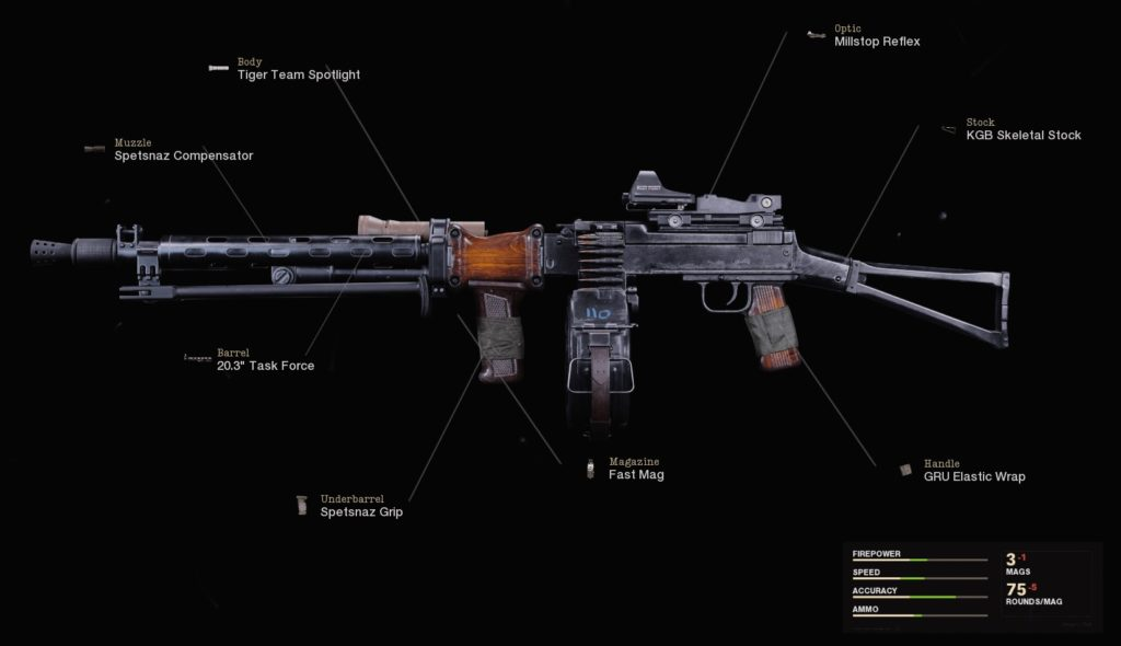 Top 10 Weapons in Call of Duty Black Ops Cold War with Fastest TTK - RPD