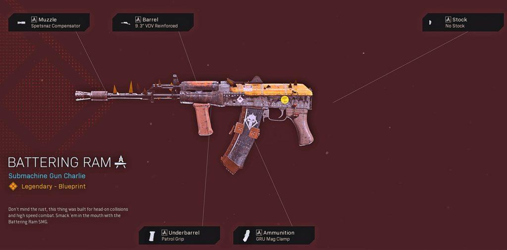 Top 10 Best AK-74u Blueprints in Warzone - Battering Ram
