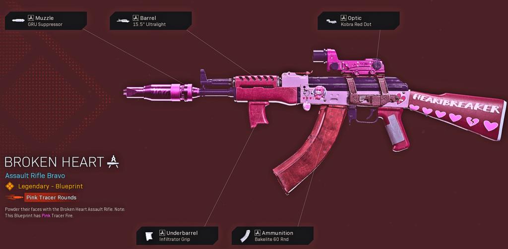 Top 10 Best Cold War AK-47 Blueprints in Warzone - Broken Heart