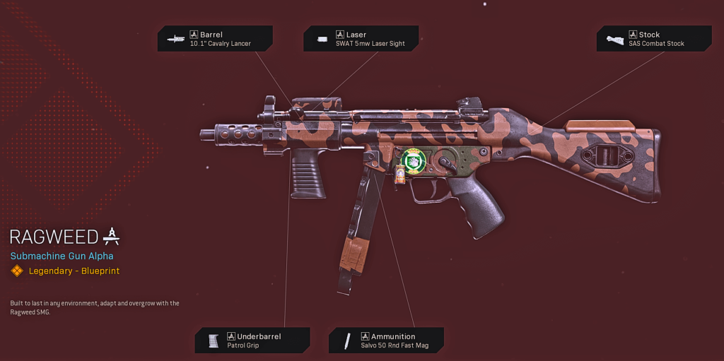 Top 10 Best Cold War MP5 Blueprints in Warzone - Ragweed