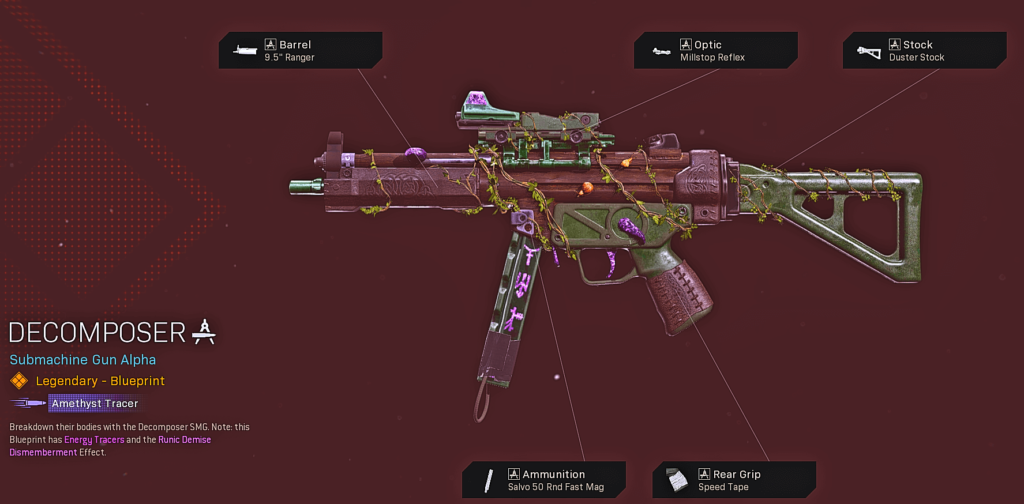Top 10 Best Cold War MP5 Blueprints in Warzone - Decomposer