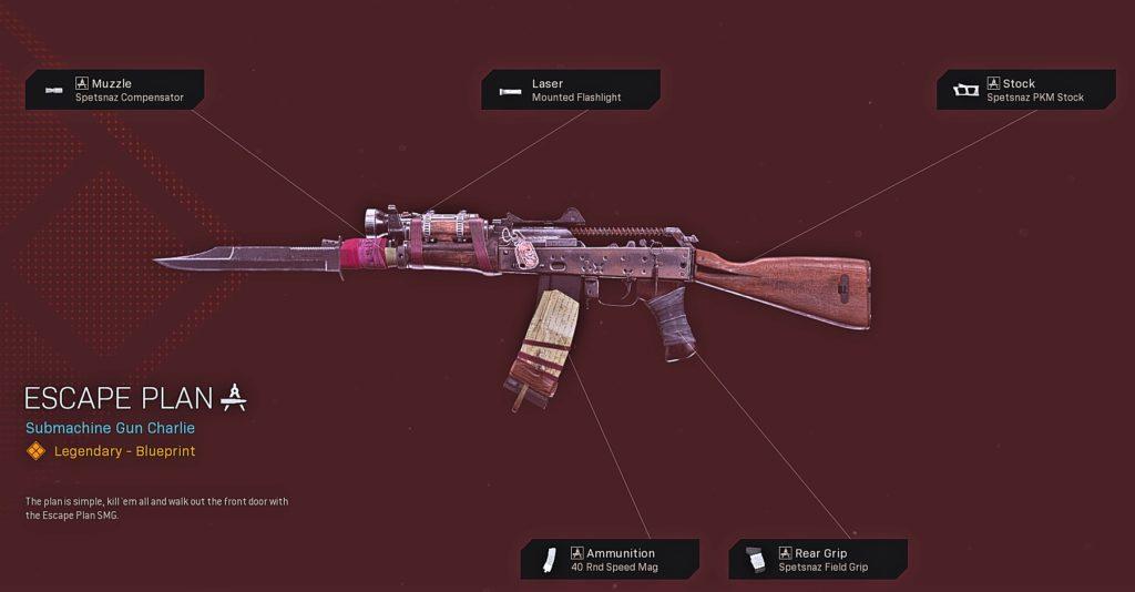 Top 10 Best AK-74u Blueprints in Warzone - Escape Plan