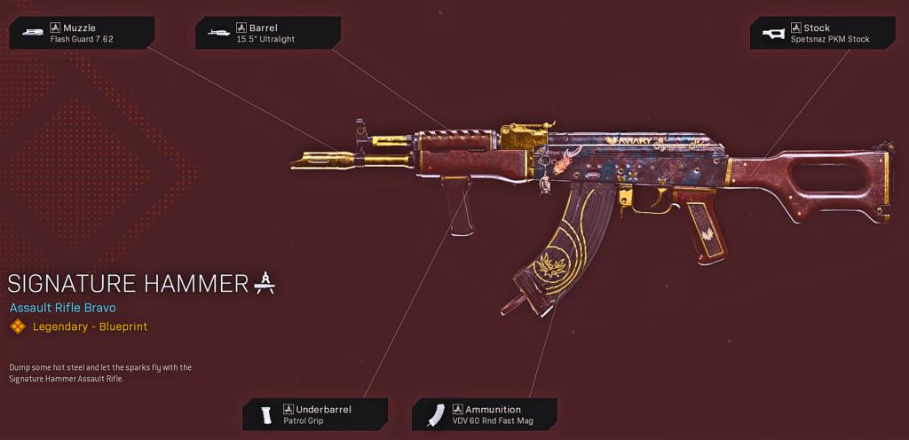 Top 10 Best Cold War AK-47 Blueprints in Warzone - Signature Hammer