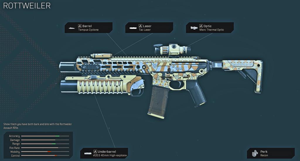 Top 10 Best M13 Blueprints in Warzone - Rottweiler