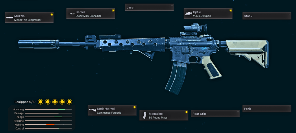 Best Weapons in Iron Trials '84 Warzone - M4A1
